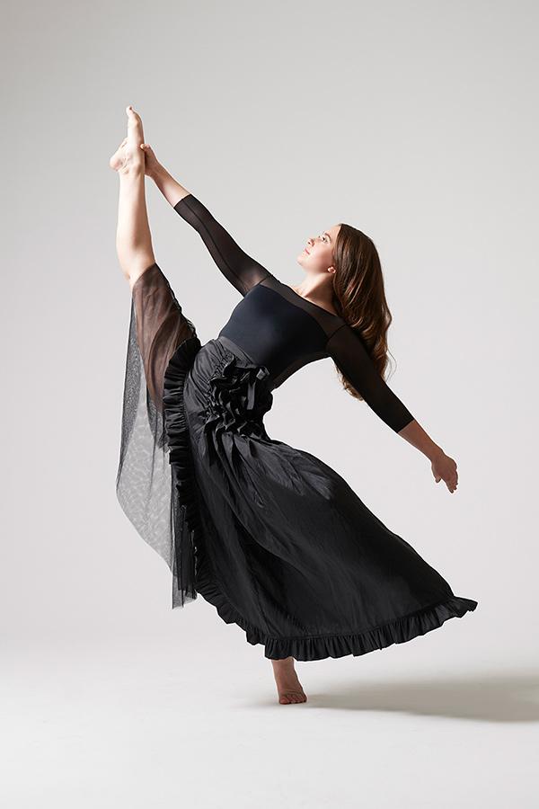 Image of my daughter dancing.