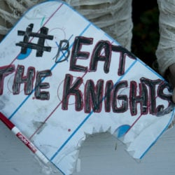 "Megalodon Coach's board showing the team strategy of ""Eating the Knights."""